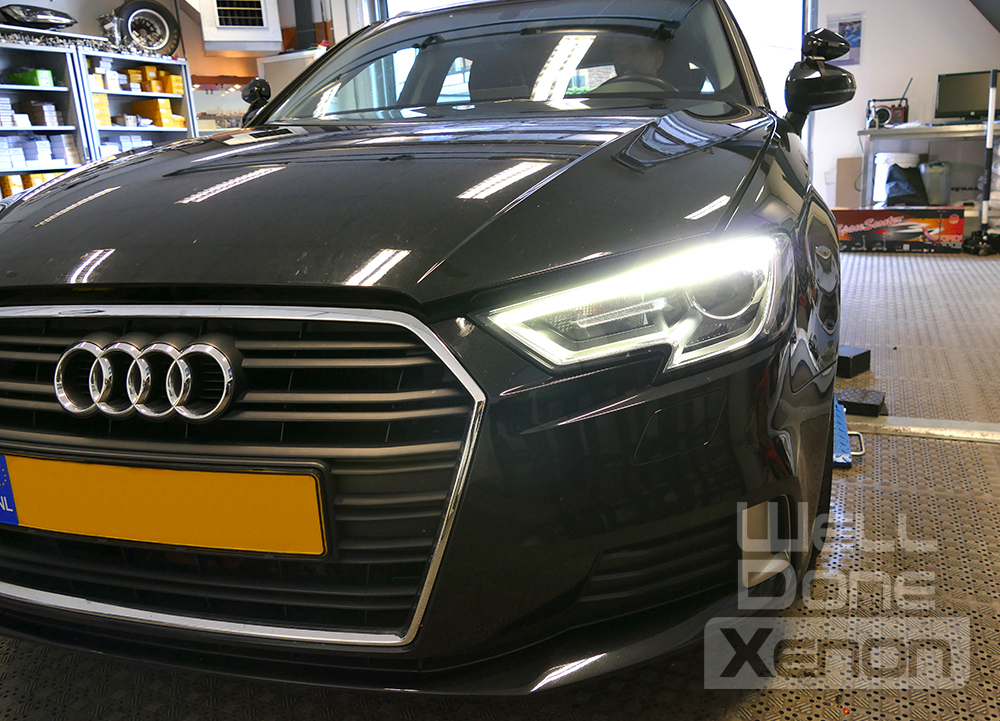 dagrijverlichting Audi A3 8V